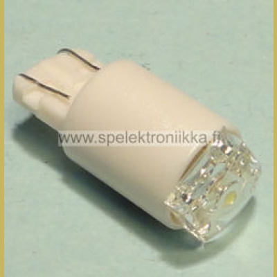 12V LED T10 kanta 5050 white