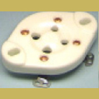 4P1 4-Pin Ceramic socket for 300B / 811 / 2A3 etc ...