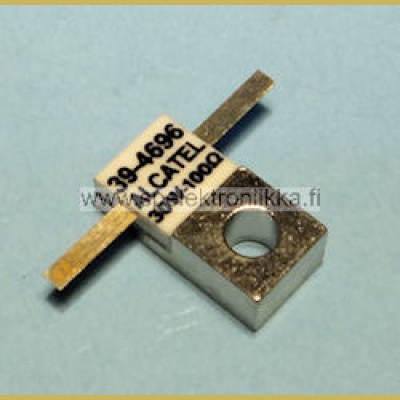 Alcatel 39-4696 RF power resistor 100 ohm / 30W