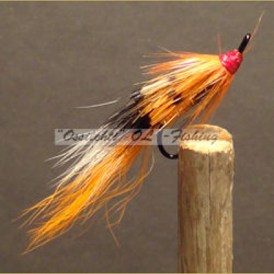 Ally's Shrimp Orange long treble koko #8