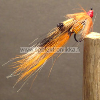 Ally's Shrimp Orange short treble koko #10