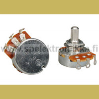 Alpha split shaft 24mm 1Mohm audiopotentiometri pleksiin solid saft ei halkaistu akseli