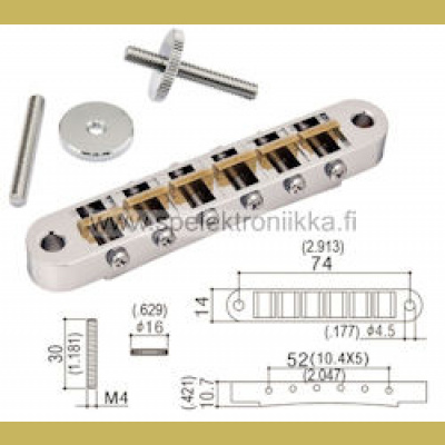 Gotoh AS-103BC kromi alumiini AS103B