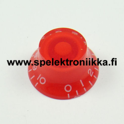Bell Top Hat nuppi red BENUPRED transparent