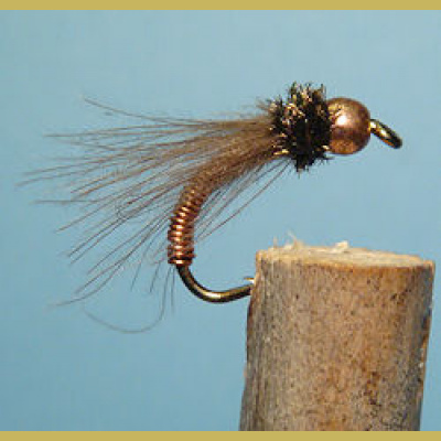 BH Metallic Caddis copper