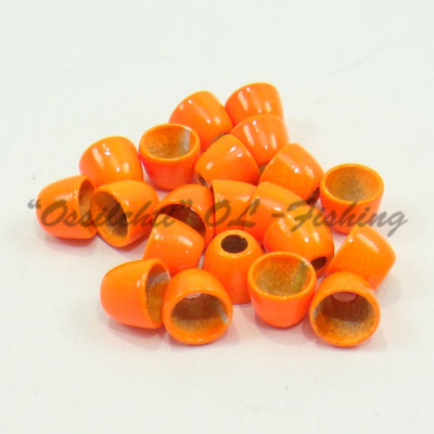 Conehead messinki 4.5 x 3.5 FLUO ORANGE 20kpl TFH®
