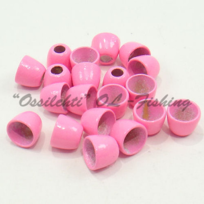Conehead messinki 5 x 4 HOT PINK 20kpl TFH®