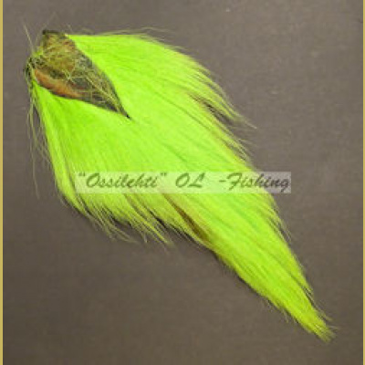 Bucktail Peuranhäntä Lime Green Chartreuse FL selected TFH®