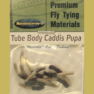Hemingway's Caddis Pupa Tube Body Grey Medium