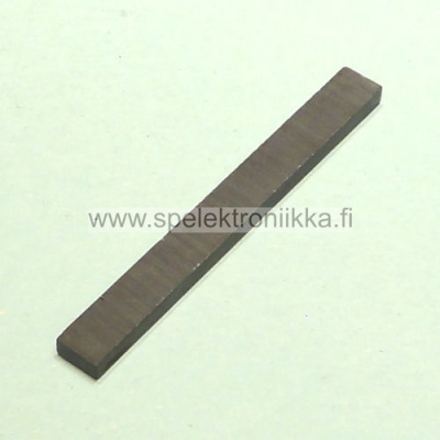 "Keraaminen Ceramic 8 Bar Magnet 3x6.35x59.7 (2.35"" x 0.250"" x 0.120"")"