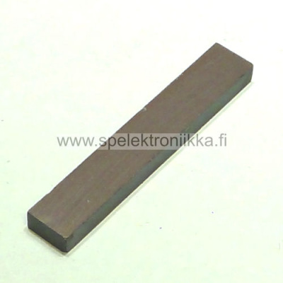 Ceramic 8 Bar Magnet 5x10x60 for guitar pickups