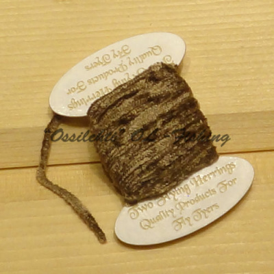 Chenille perhonsidontaan Brown 3mm Royal Chenille TFH® 5m