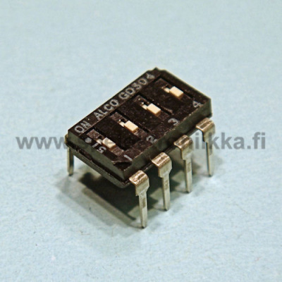 DIP switch 4 pole ALCO 10pcs