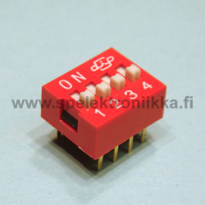 DIP switch 4 pole similar as C&K