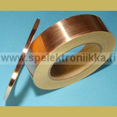 Kupariteippi copper shielding tape (kuparifolioteippi) 1m, leveys 30mm