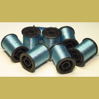 TFH™ Sparkle Thread Silver / Bright Blue