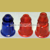 Plastic pion post 11561BLUE, 26 mm