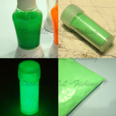 Glow powder for lure making ice jig making green afterglow TFH®