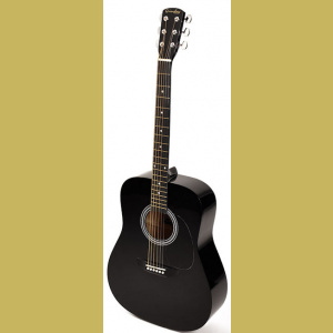 Grimshaw dreadnought guitar GSD-20-BK