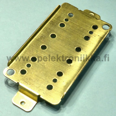 Humbucker pohjalevy pitch 52 mm HUBB527 messinki