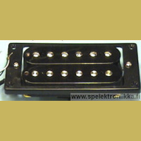 Humbucker OL®, ylikäämitty (overwound), BHC3B, bridge, black, ceramic
