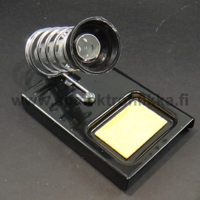 Soldering iron stand for soldering iron holder