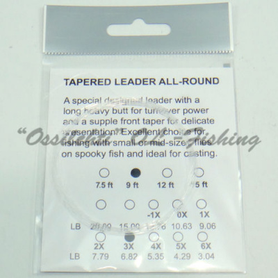 Kartioperuke All-Round tapered Leader 4.5mm 15ft / koko 1X TFH™