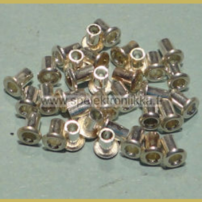 Läpivienti new age eyelet plated copper pituus 3.4 mm n. 100 kpl