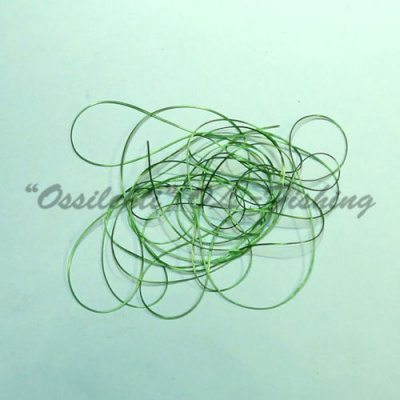 Smooth Maggot Flat Body String Emerald Green TFH™