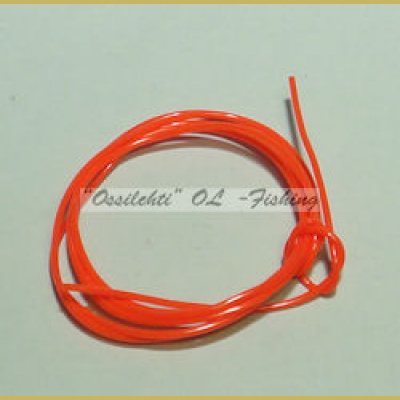 Larva Round Hollow Bodytube RED 1m TFH™
