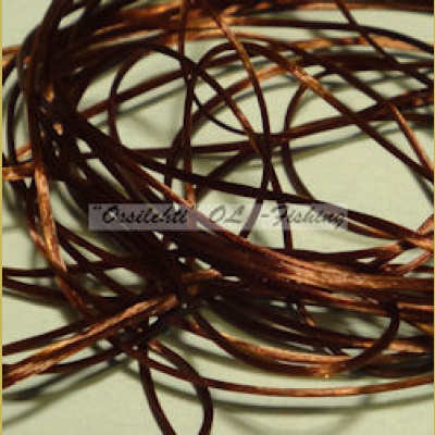 Smooth Maggot Flat Body String, Dark Coffee TFH™