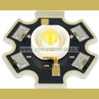 LED teholed 1W  lambertian typ. 5500K typ. 150 lm white