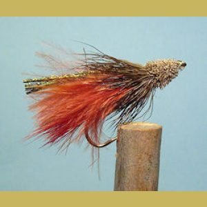 Marabou Muddler Brownish Red