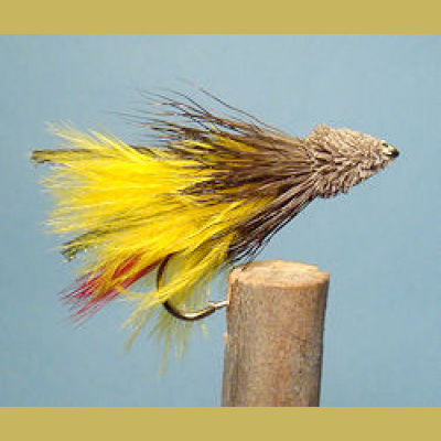 Marabou Muddler Yellow