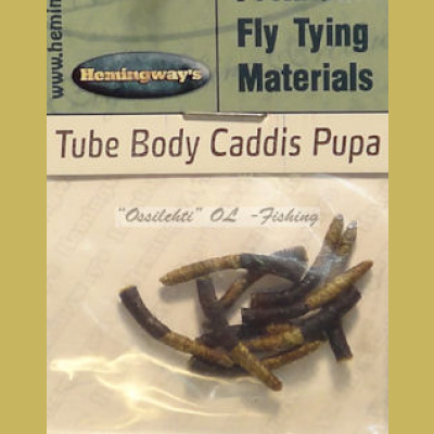 Hemingway's Caddis Pupa Tube Body Olive Medium