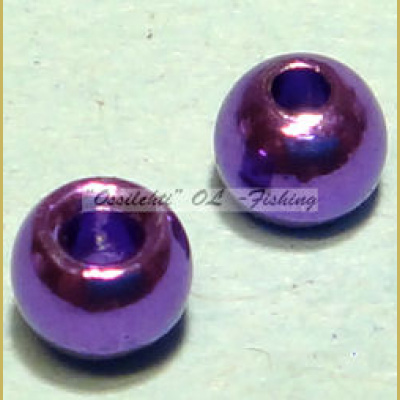 "Messinkikuulat TFH® 3.8mm 5/32"" 20kpl Anodisoitu lucent metallic DARK PURPLE"