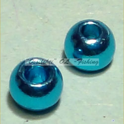 "Messinkikuulat TFH® 2.8mm 7/64"" 20kpl Anodisoitu lucent metallic LIGHT BLUE"