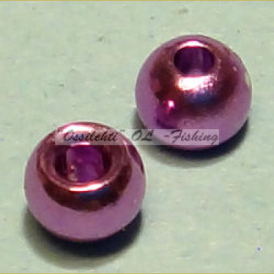 "Messinkikuulat TFH® 3.8mm 5/32"" 20kpl Anodisoitu lucent metallic LIGHT PURPLE"