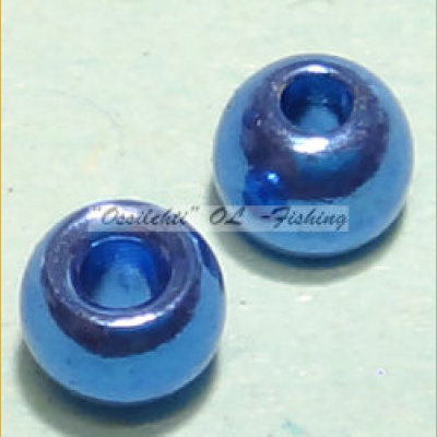 "Messinkikuulat TFH® 2.8mm 7/64"" 20kpl Anodisoitu lucent metallic ROYAL BLUE"