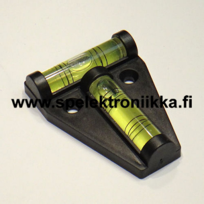Spirit level vatupass two-way  size 13 x 45 x 60 mm
