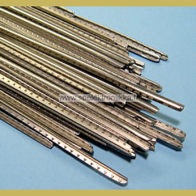 Rosteri (stainless steel) otelautanauha Sintoms Ltd vintage 2.1 mm/26cm