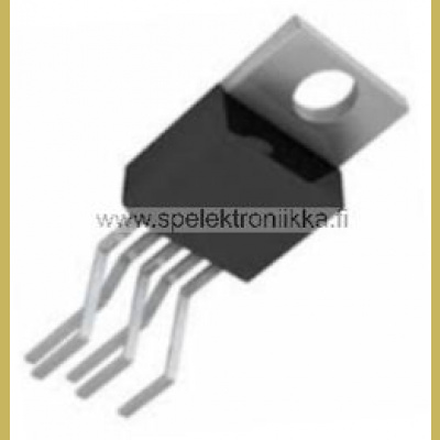 L387A Very Low Drop 5V regulator 500mA, Reset Pentawatt