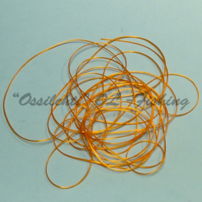 Smooth Maggot Flat Body String Extra Bright Orange TFH™