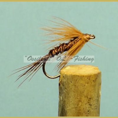 Pheasant tail spider soft hackle brown
