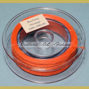 Pohjasiima TFH™ Dacron Polyesteri hot orange 20lb 100yds (91.44 m)