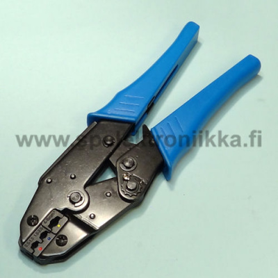Crimp pliers for isolated faston connectors 0.5 - 6 mm
