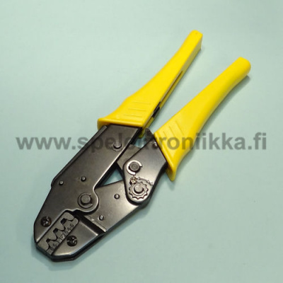 Crimp pliers for unisolated faston connectors 0.5 - 6 mm