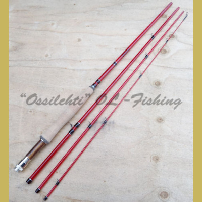"Perhovapa Ossilehti Fishing® Red Whip 8'1"" LW 5# lasikuitu"