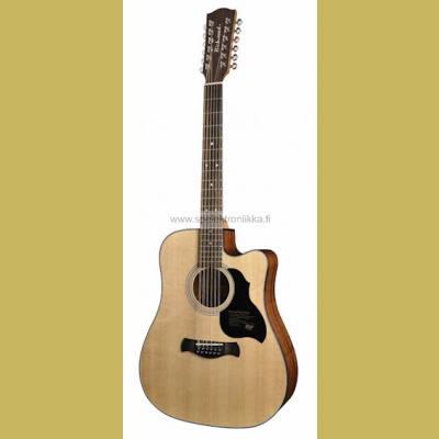 D-4012-CE with ISYS 601 Richwood Master Series handmade 12-string dreadnought gu