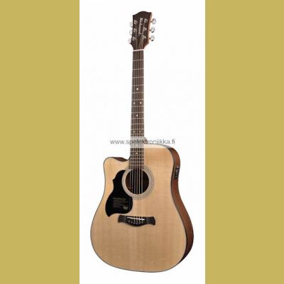 D-40L-CE with ISYS 601 Richwood Master Series handmade lefthanded dreadnought gu